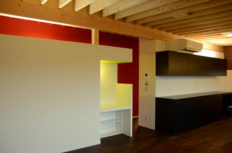 板張の家-2
